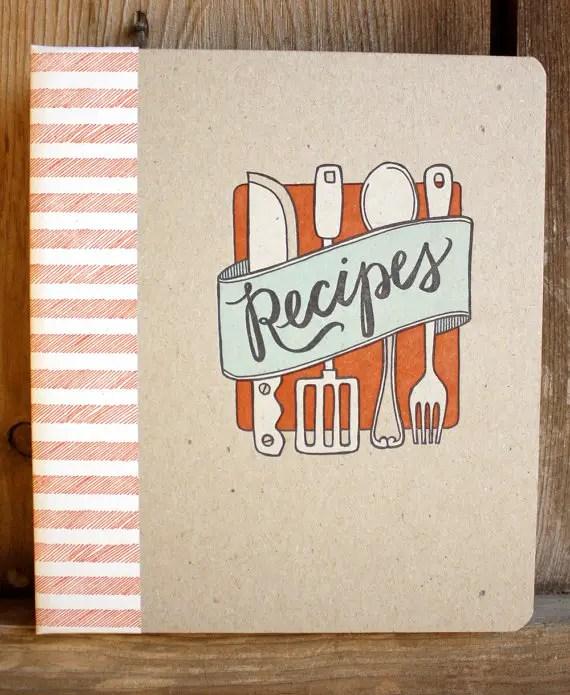 recipe book covers templates