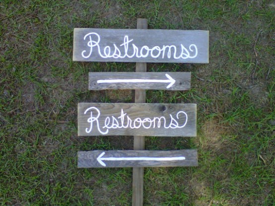 bathroom wedding ideas