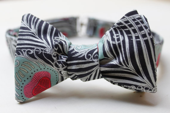 wedding bow tie liberty of london