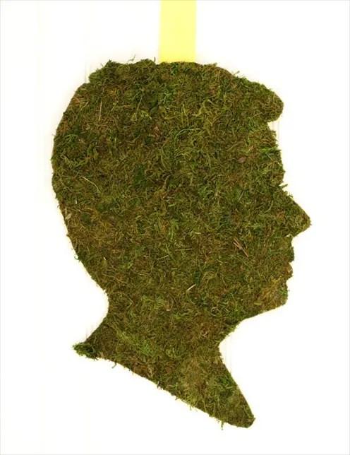 moss silhouette groom