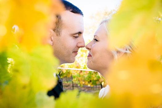 Jeannie Guzis, Photographer - handmade fall wedding