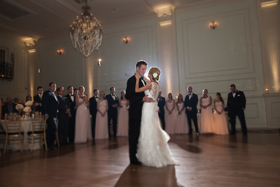 Philadelphia ballroom wedding at the Cescaphe