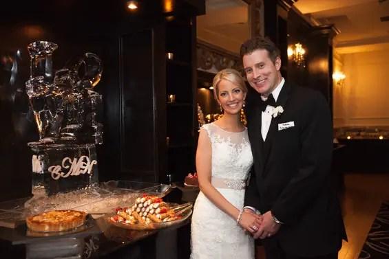 Philadelphia ballroom wedding at the Cescaphe