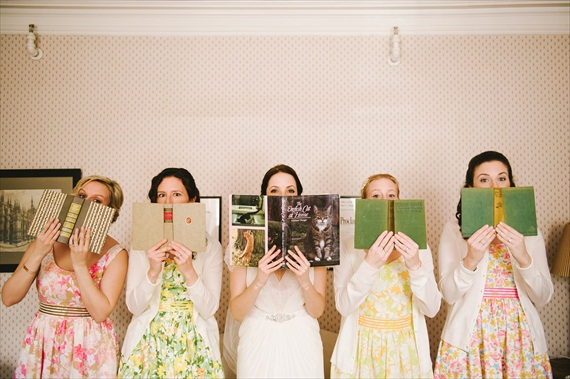 vintage real wedding - photo: michelle gardella