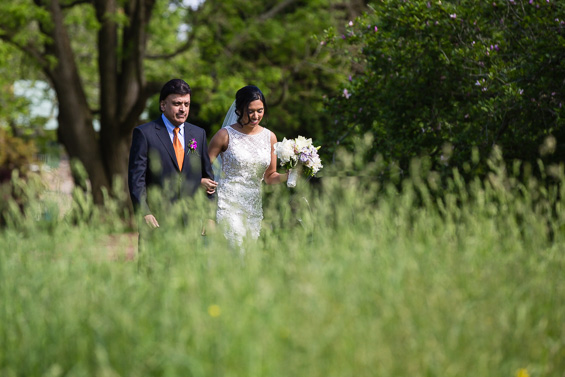 Daniel Fugaciu Photography - father walks bride down the aisle at tyler arboretum wedding