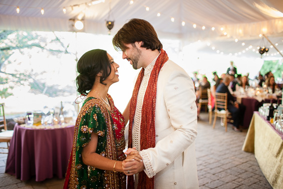 Daniel Fugaciu Photography - bride and groom dressed in Indian wedding attire