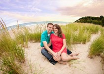 Frankfort Michigan _ _ Rayan Anastor Photography _ Michigan Engagement Photographer 3