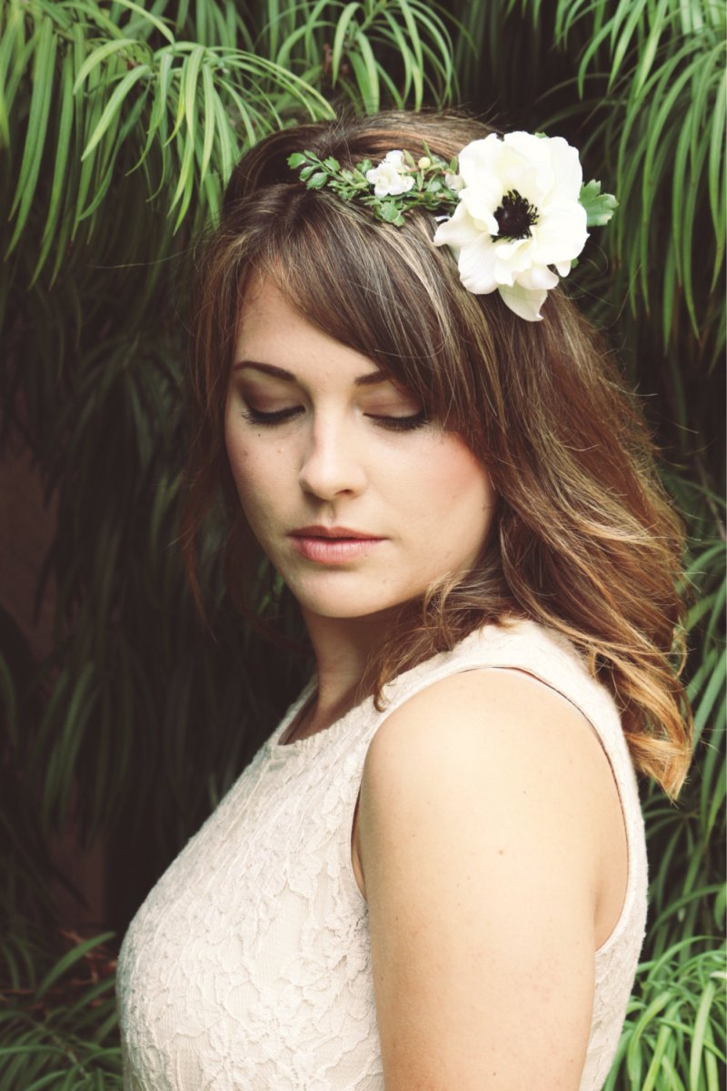 How to Wear a Hair Crown for Wedding