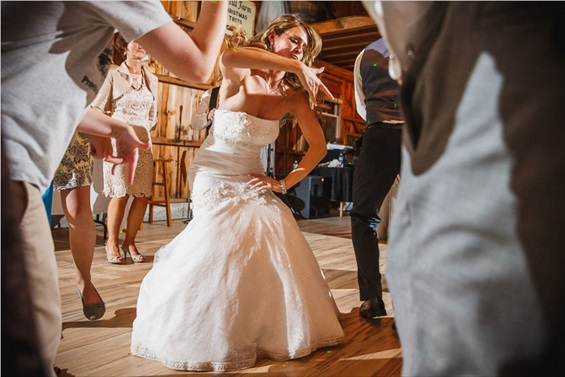 Butler Photography LLC - bride dancing at wedding