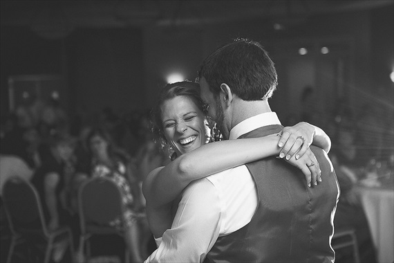 Matthew Steed Wilson Photography - bride and groom dancing at Coyote Creek Golf Course
