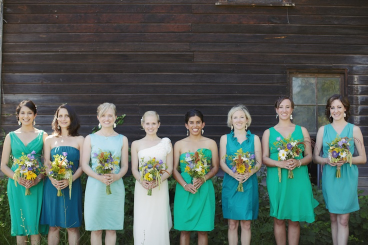 SEA GLASS BRIDESMAIDS BEN BLOOD