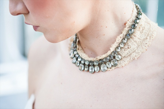 The Rizy Rose - Necklace with Lace