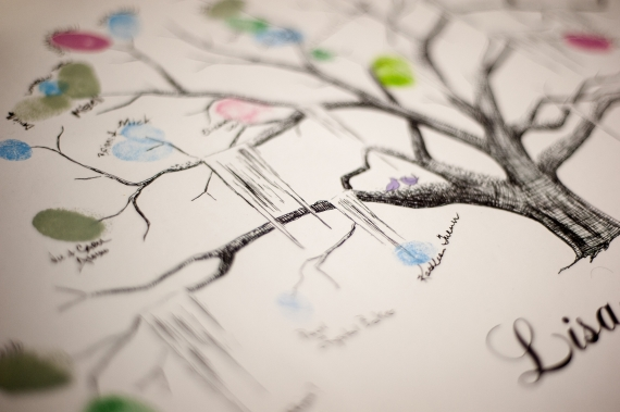 Thumbprint Tree Guest Book