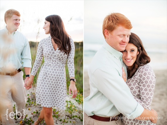 Eric Boneske Photography - Wilmington Beach Engagement
