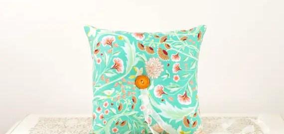 aqua-orange-ring-pillow