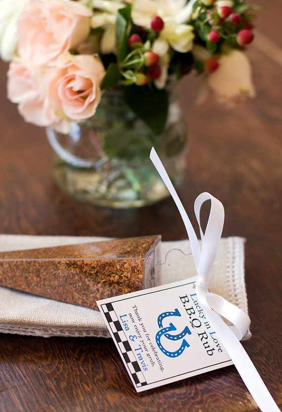 bbq rub wedding favors - How to Plan a Western Themed Wedding