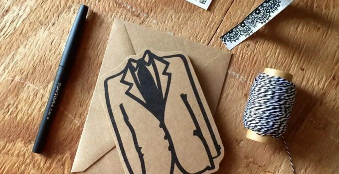 be my groomsmen cards kraft