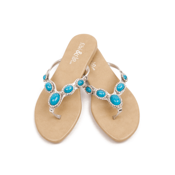 Beach Wedding Sandals:  5 Wear-Again Styles (by EmmalineBride.com - photo/sandals: fibi & clo)
