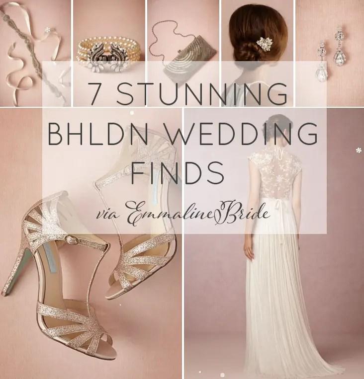 7 BHLDN Wedding Finds via EmmalineBride.com