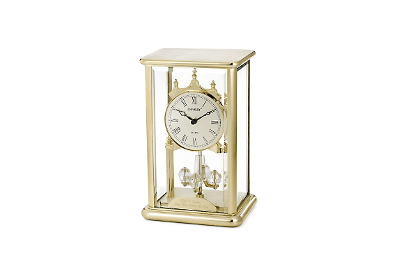 brass clock wedding day gifts for mom