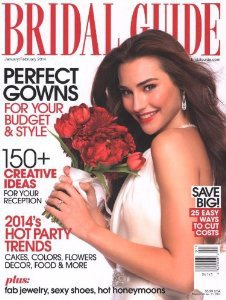 bridal guide wedding magazine - via newly engaged: 8 things to do right now