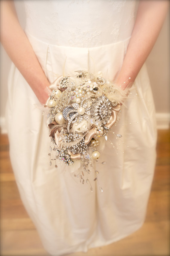 What's Hot in The Marketplace - 9.12.13 - brooch bouquet by pearl & co.