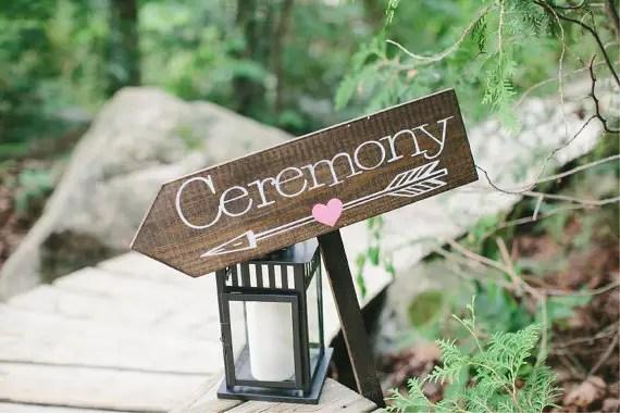 ceremony wedding sign - 8 Perfect Ceremony Accessories