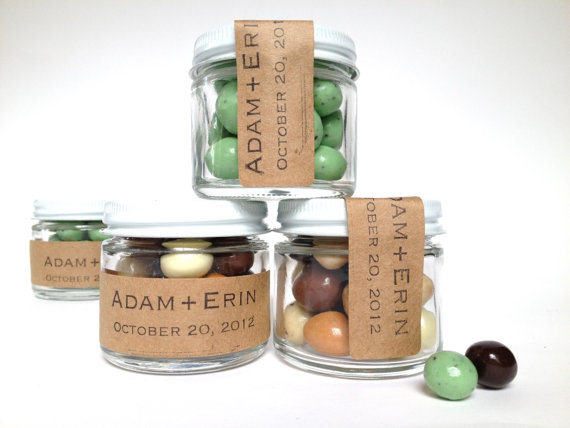 50 Best Bridal Shower Favor Ideas: chocolate covered espresso bean favors (by apropos roasters)