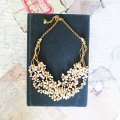 chunky pearl necklaces for your wedding