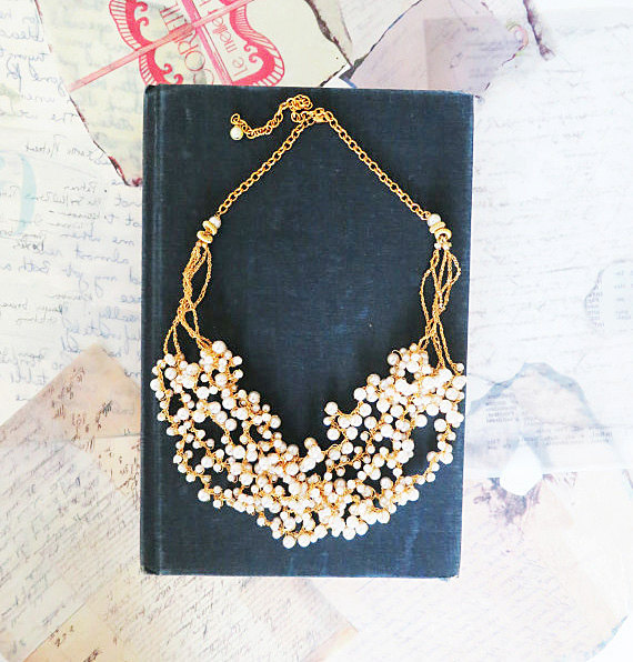 Chunky Pearl Necklaces for Your Wedding (by Sukran Kirtis)