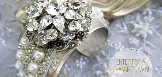 cloe noel bridal cuff giveaway