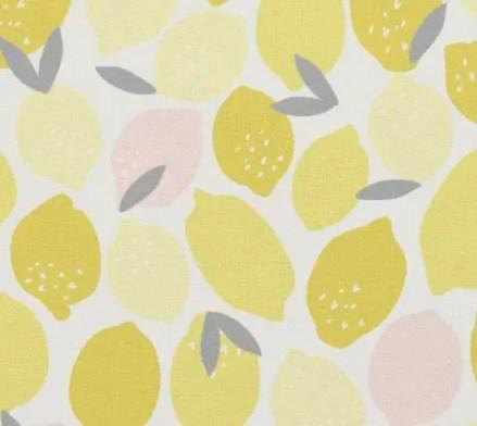 custom fabric lemons