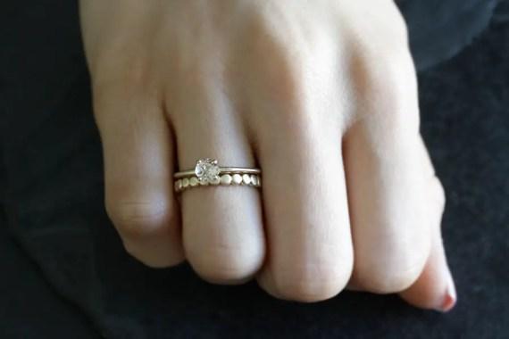 custom handmade engagement ring