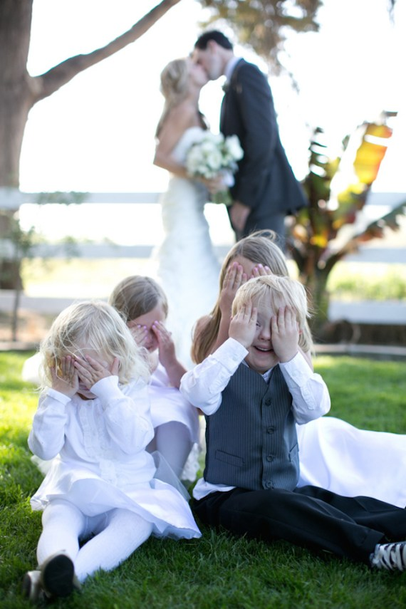 cute kids photo wedding (photo: jennifer bagwell)