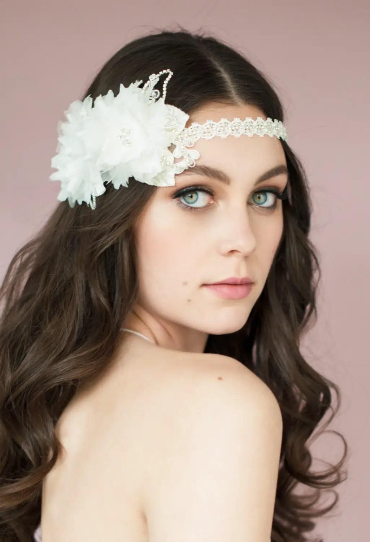 diana floral headband