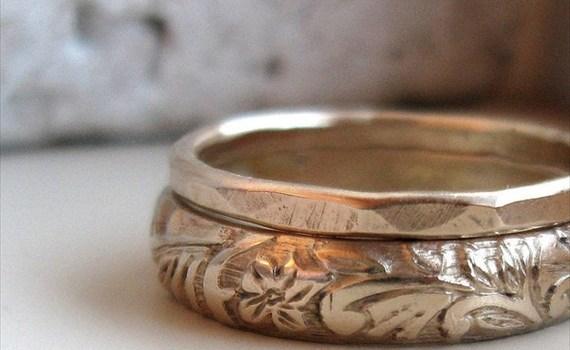 earthy-wedding-ring-set