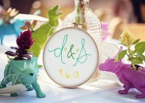 embroidered wedding ideas