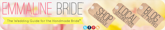 emmaline bride banner - wedding color palette