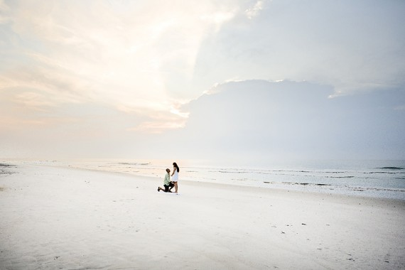 Top 20 Engagement Photo Ideas: The Surprise Proposal on the Beach (by Eric Boneske)