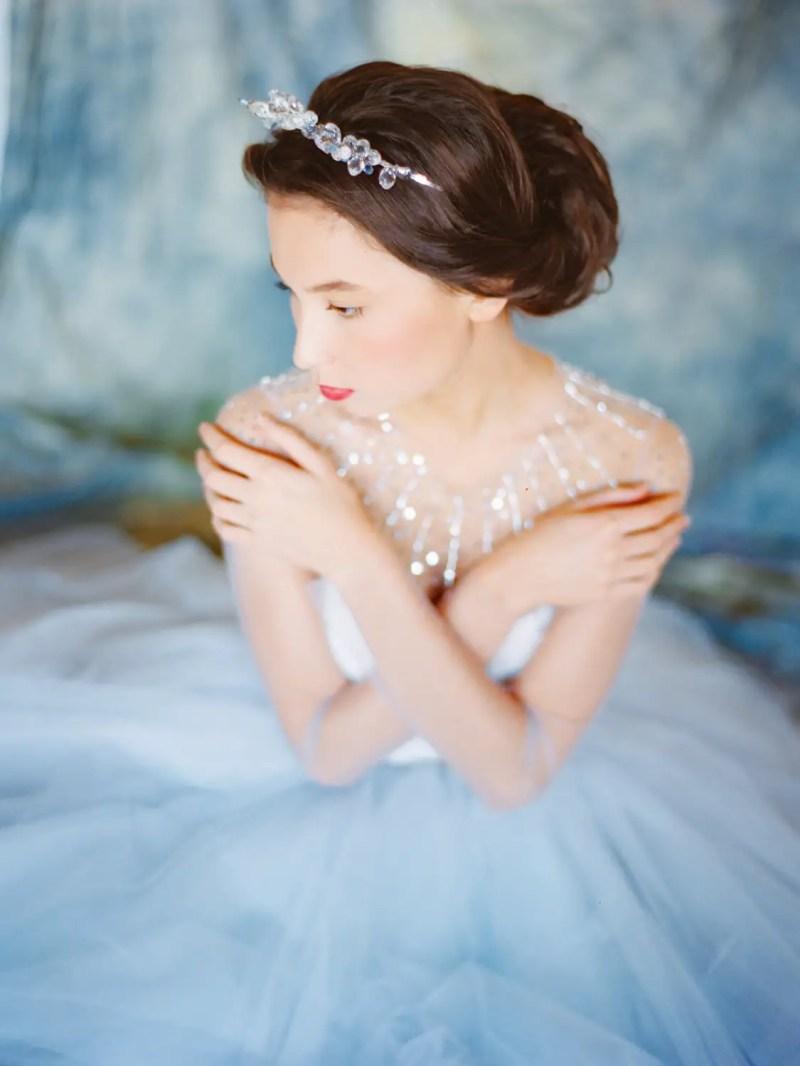 fairytale wedding gown photo