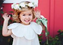 petal flower girl dress   via http://emmalinebride.com/spring/petal-flower-girl-dress