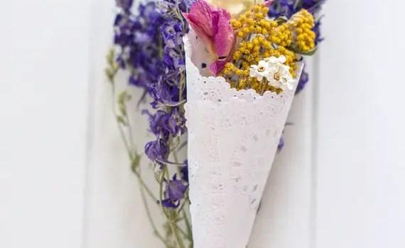 flowerfetti petal cone