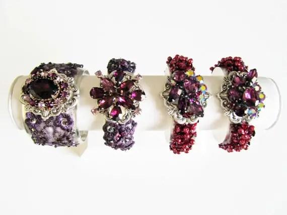 Bridal Cuff Bracelets That'll Wow You (by Cloe Noel)
