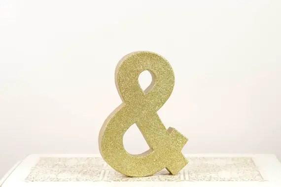 gold ampersand via $75 Gift Card Giveaway!