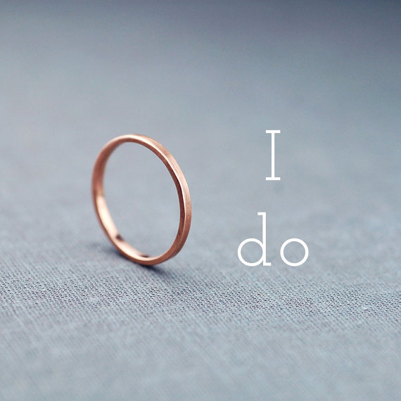 handcrafted jewelry (by lily emme jewelry) - gold wedding band