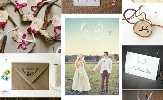 handmade-antler-wedding-ideas
