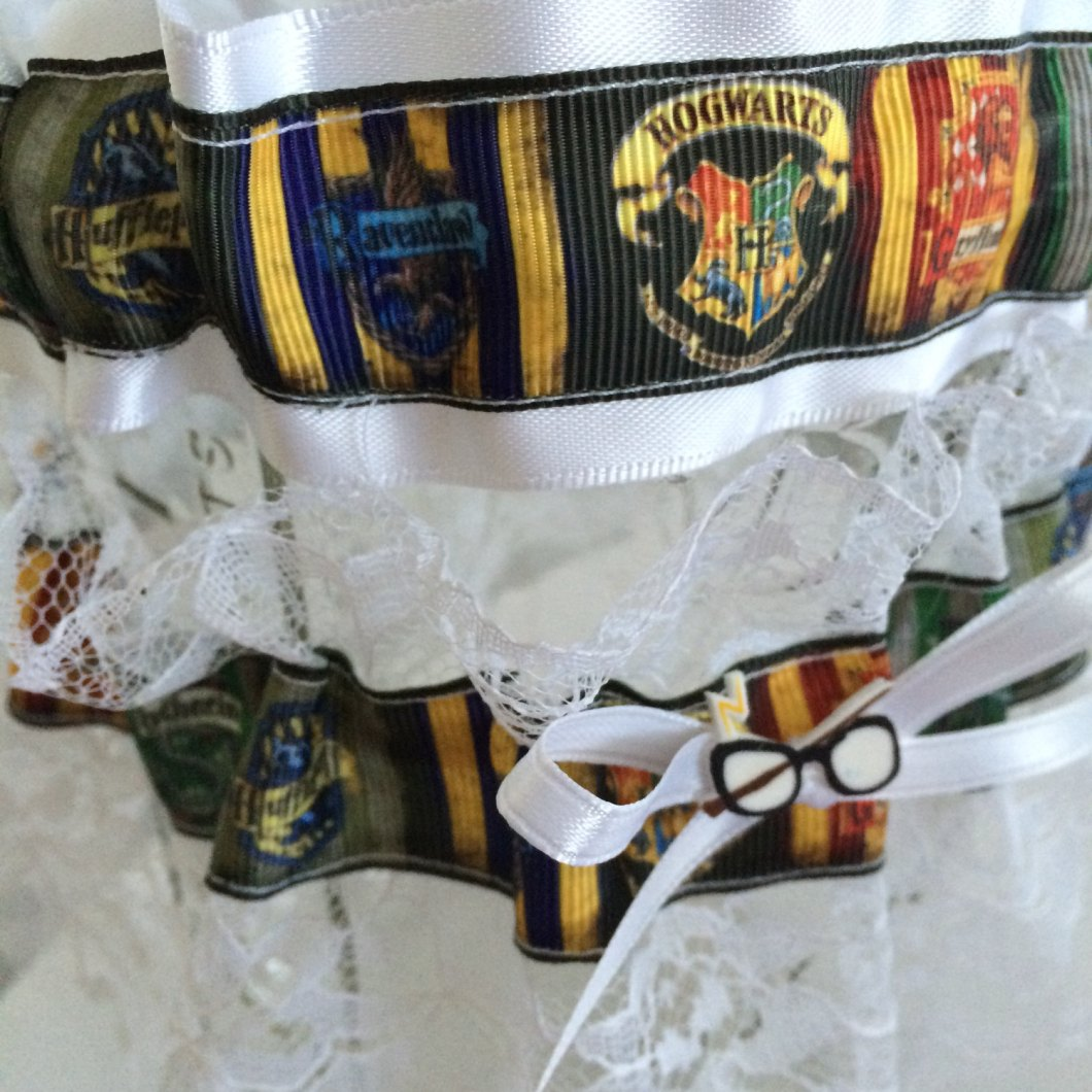 harry potter garter set
