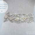 how to choose a bridal sash in three easy steps