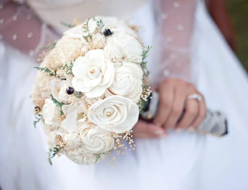 ivory flower bouquet