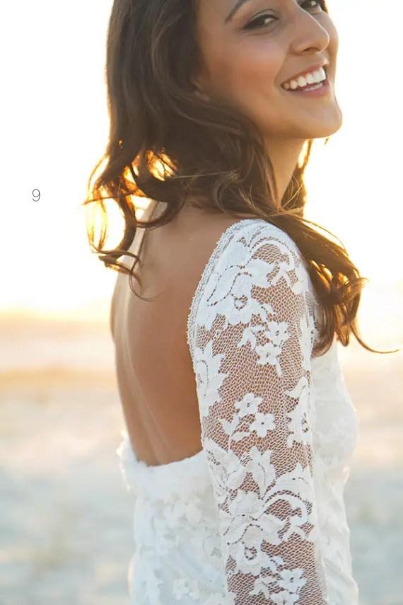 lace wedding dress sleeves